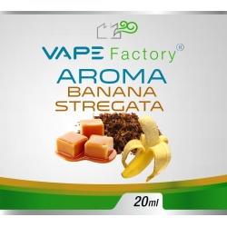 VapeFactory - Aroma Banana Stregata 20ml (Tabacco, Caramello, Banana)