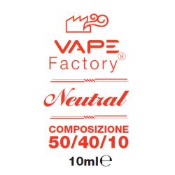 VapeFactory - Base Neutra 50/40/10 20 mg/ml Nicotina 10ml