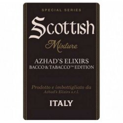 Azhad's Elixirs - Aroma Tabacco Scottish Mixture 20ml