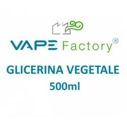 VapeFactory - Glicerina Vegetale 500ml