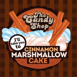 Big Mouth - The Candy Shop -  Cinnamon Marshmallow Cake 10ml