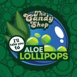 Big Mouth - The Candy Shop - Aloe Lollipops 10ml