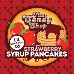 Big Mouth - The Candy Shop - Strawberry Syrup Pancakes 10ml
