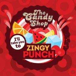 Big Mouth - The Candy Shop - Zingy Punch 10ml