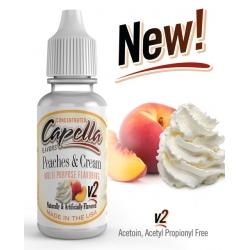 Capella Flavors - Aroma Peaches and Cream v2 13ml
