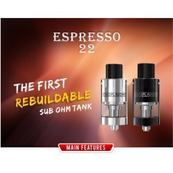 DigiFlavor Espresso 22 Sub Ohm Tank