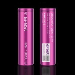 Efest Purple 2500mah 18650 IMR 35A