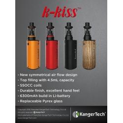 Kanger K-Kiss Starter Kit 6400mah