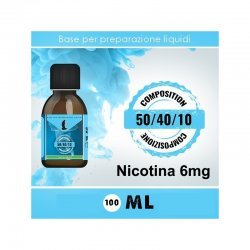 LOP - Base Neutra 504010 Nicotina 6mg 100ml TPD