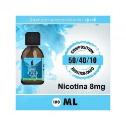 LOP - Base Neutra 504010 Nicotina 8mg 100ml TPD