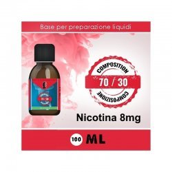 LOP - Base Neutra 7030 Nicotina 8mg 100ml TPD