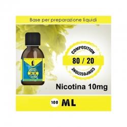 LOP - Base Neutra 8020 Nicotina 10mg 100ml TPD