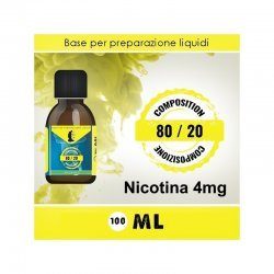 LOP - Base Neutra 8020 Nicotina 4mg 100ml TPD