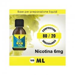 LOP - Base Neutra 8020 Nicotina 6mg 100ml TPD
