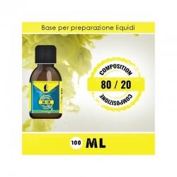 LOP - Base Neutra 8020 Senza Nicotina 100ml