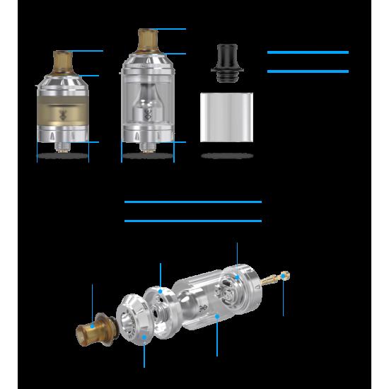 Bersker MTL Kit Coil Resistenza 1,5 ohm-1,8 ohm Vandy Vape