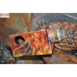 Yiloong Vape Stab Wood Squonk Box con Atomizzatore