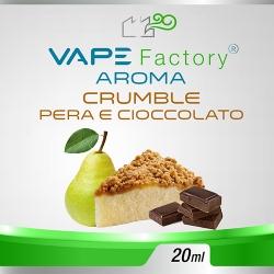 VapeFactory - Aroma Crumble Pera e Cioccolato 20ml