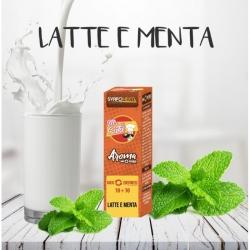 SvapoNext - Aroma Shot Series Latte e Menta