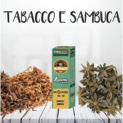 SvapoNext - Aroma Shot Series Tabacco e Sambuca