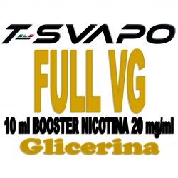 T-Svapo - Base Neutra Full VG Nicotina 20mg 10ml
