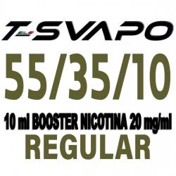 T-Svapo - Base Neutra Regular 55/35/10 10ml Nicotina 20mg