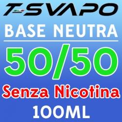T-Svapo - Kit Base Neutra 50/50 Senza Nicotina 100ml