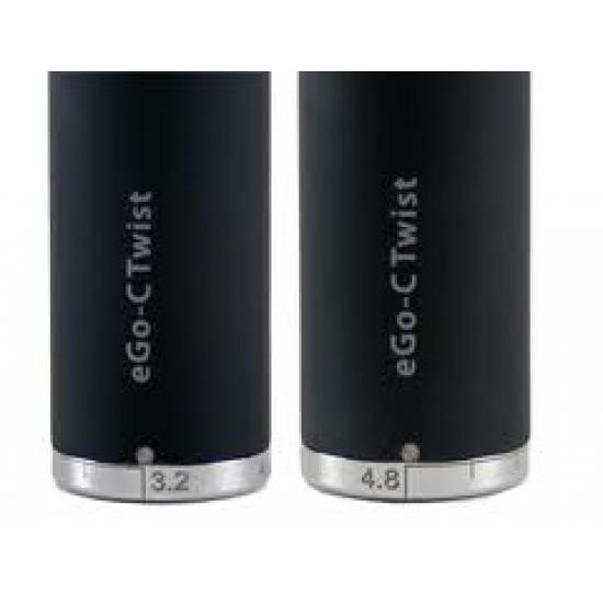Batteria eGo Twist Nera 650mah