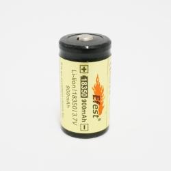 Efest 18350 900mah Unprotected Li-ion battery button top