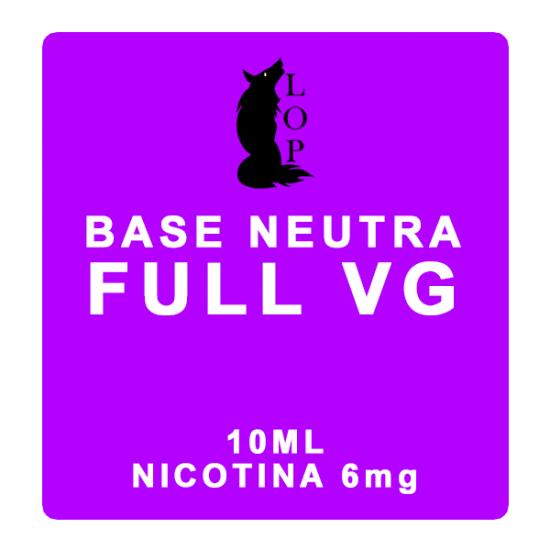 LOP - Base FULL VG 10ml Nicotina 6mg