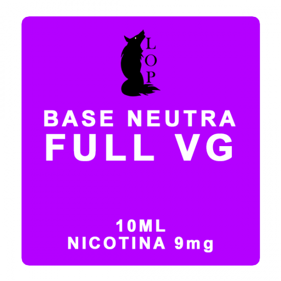 LOP - Base FULL VG 10ml Nicotina 9mg