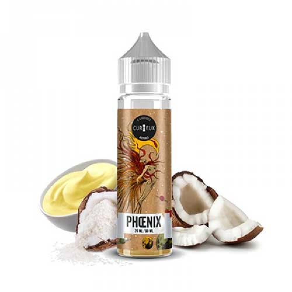 E Liquid Curieux Aroma Phoenix 20ml Svapo Store Sigarette Elettroniche