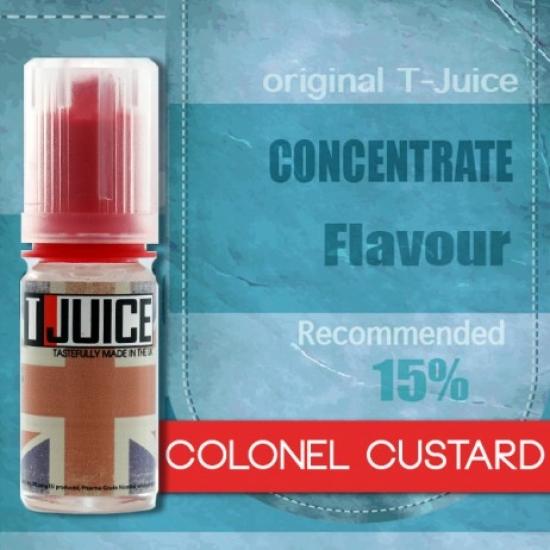 T-Juice Colonel Custard Concentrato