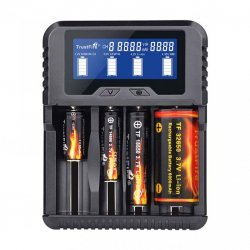 TrustFire Caricabatterie TR-020 4 Slot