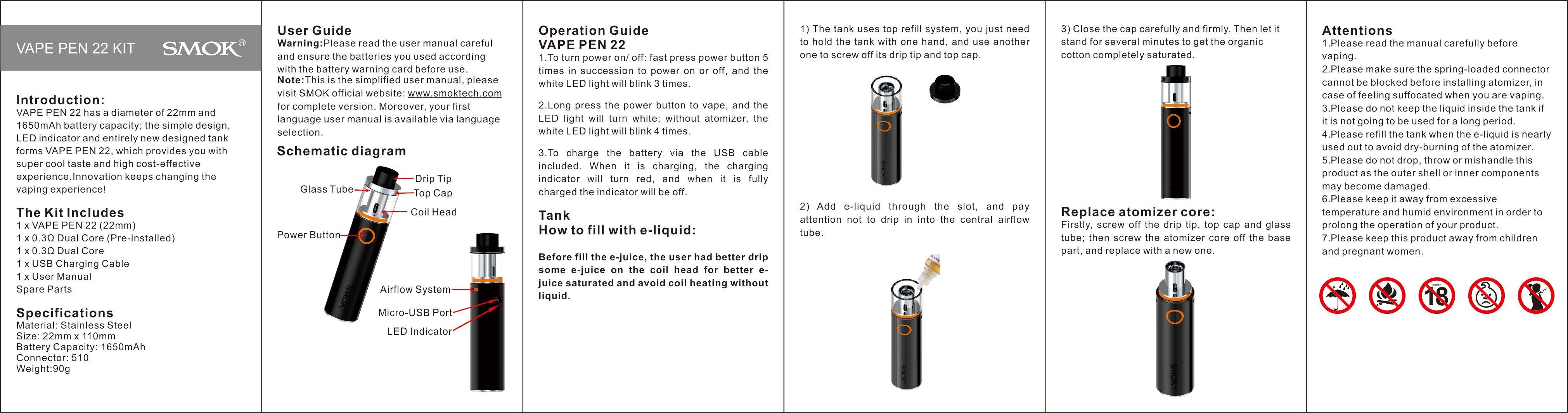 Manuali Sigarette Elettroniche | Svapo Store Sigarette
