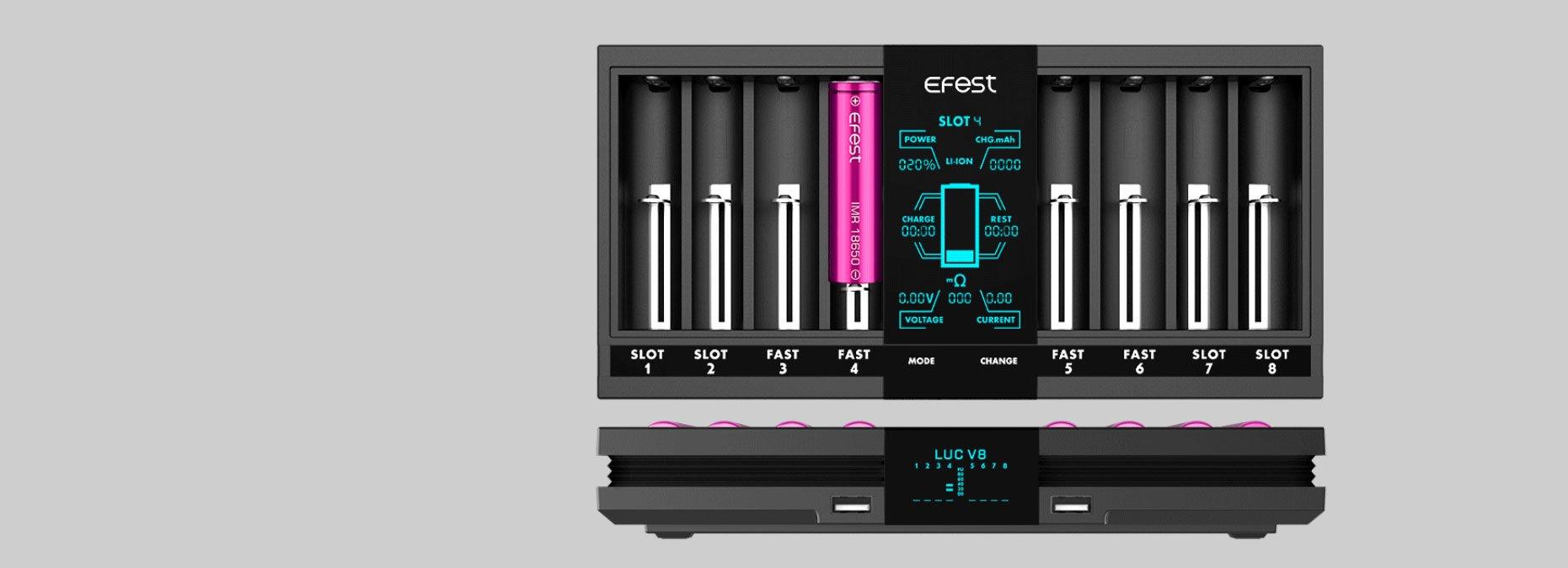 efest-luc-v8-dobule-screen-fast-charger